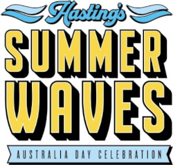 Hastings Summer Waves Logo